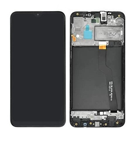 LCD displej + dotykové sklo Samsung A105 Galaxy A10 s rámom