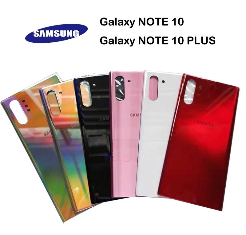 Samsung Galaxy Note 10/Note 10 Plus - Zadný kryt - čierny