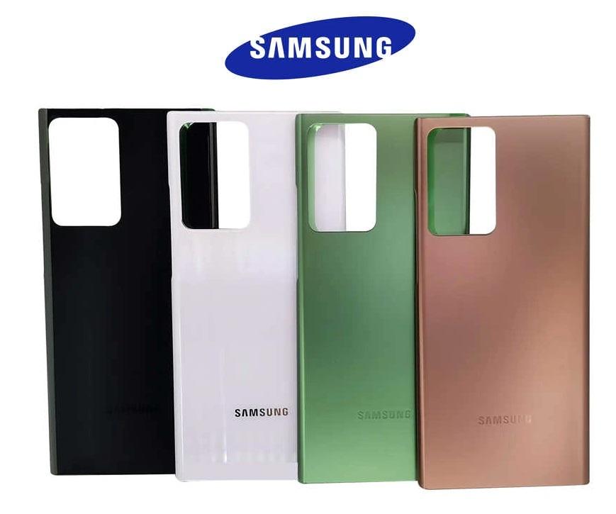 Samsung Galaxy Note 20 Ultra/Note 20 Ultra 5G - Zadný kryt - čierny