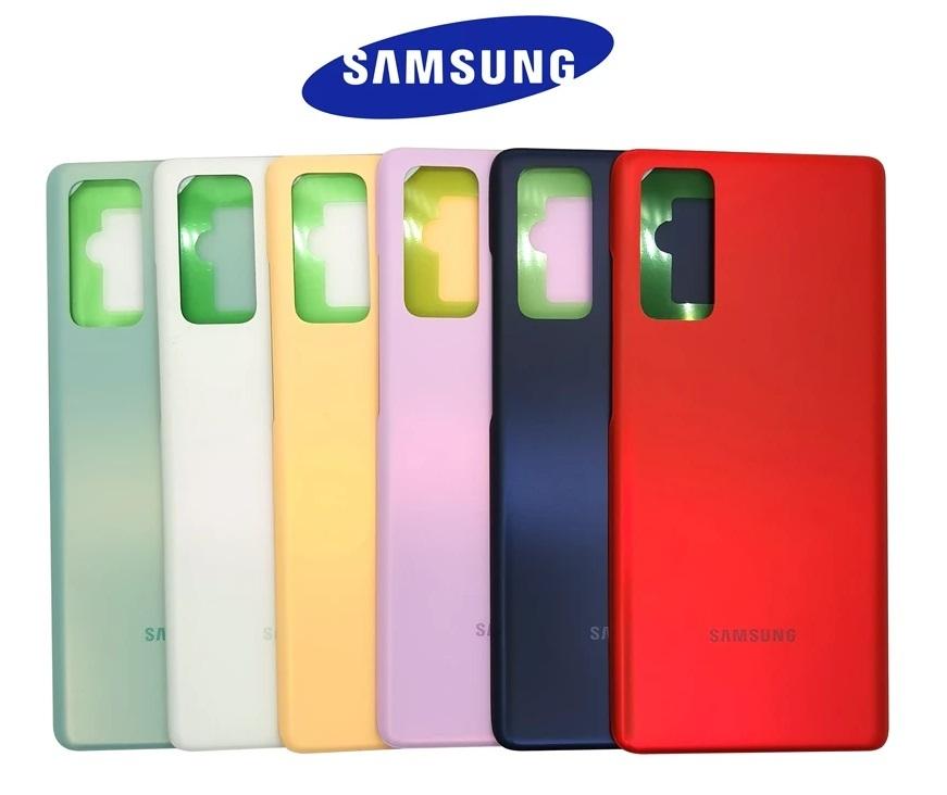 Samsung Galaxy S20 FE/S20 FE 5G - Zadní kryt - biely