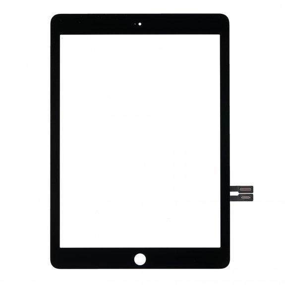 Apple iPad 10.2 2020 - dotyková plocha, sklo (digitizér) - čierne