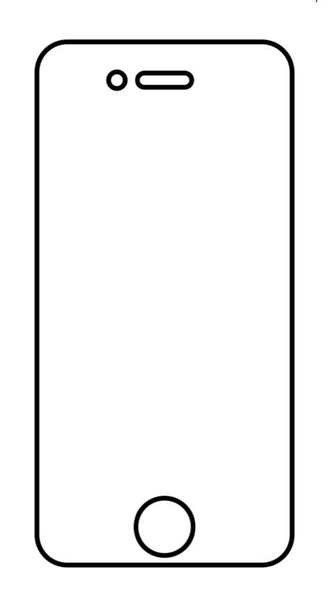 Hydrogel - matná ochranná fólia - iPhone 4/4S