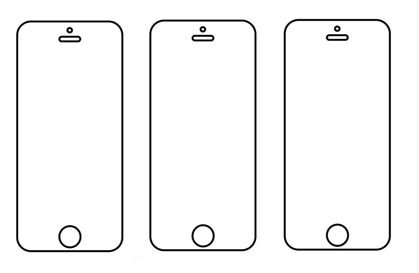3PACK - Hydrogel - 3x ochranná fólia - iPhone 5/5C/5S/SE