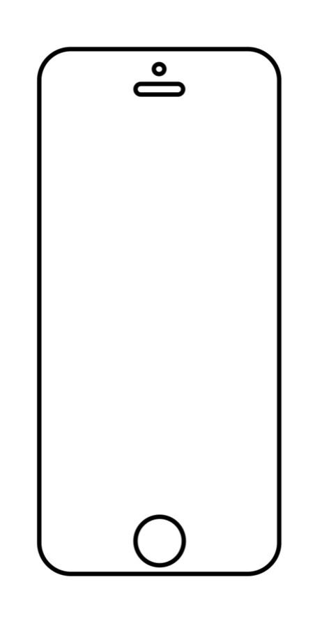 Hydrogel - ochranná fólia - iPhone 5/5C/5S/SE - typ 1