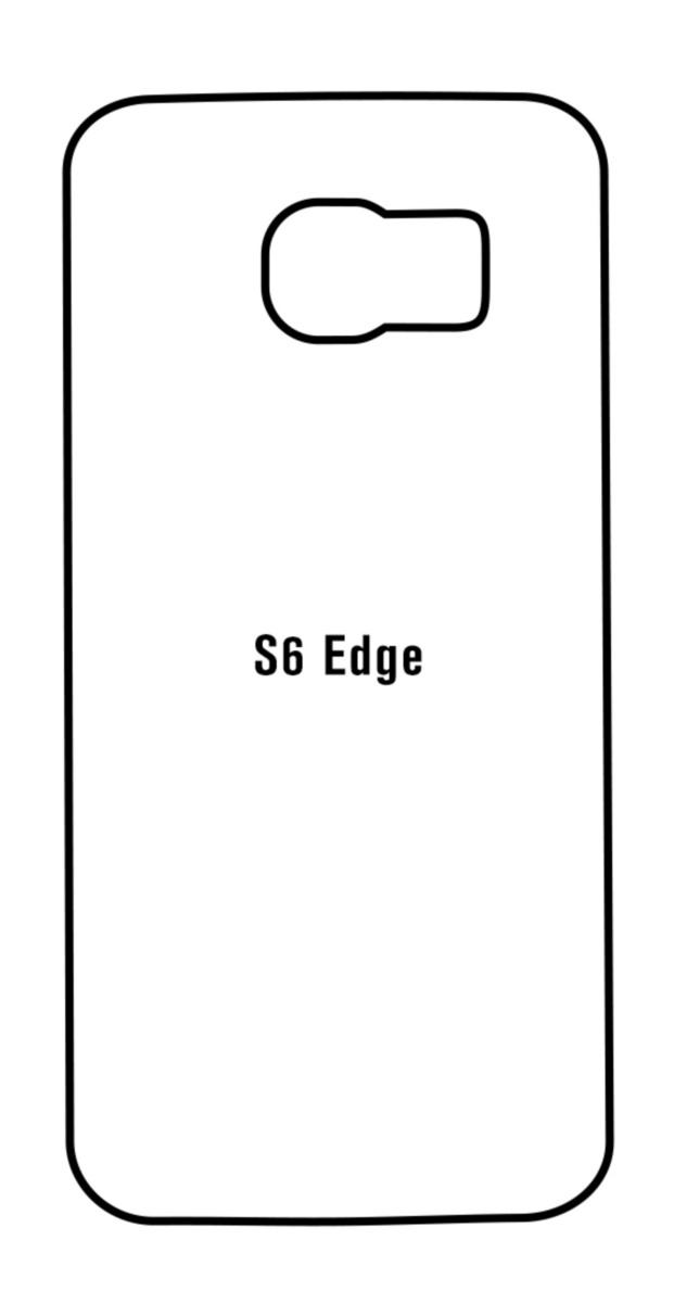Hydrogel - matná zadná ochranná fólia - Samsung Galaxy S6 Edge