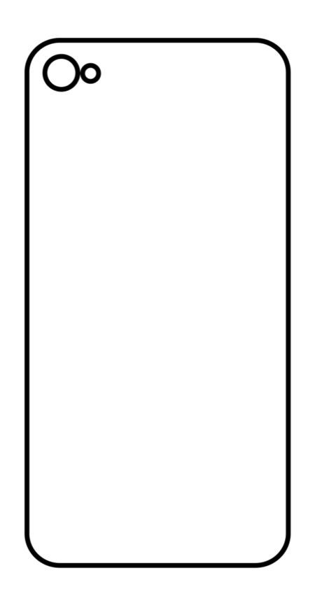 Hydrogel - zadná ochranná fólia - iPhone 4/4S
