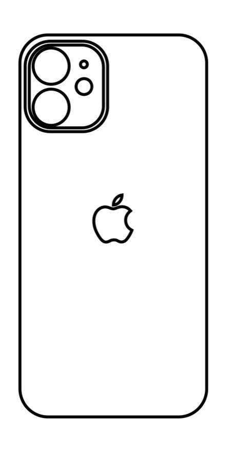 Hydrogel - zadná ochranná fólia - iPhone 11 - typ 5