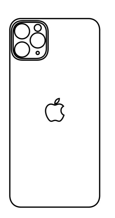 Hydrogel - zadná ochranná fólia - iPhone 11 Pro Max - typ 5