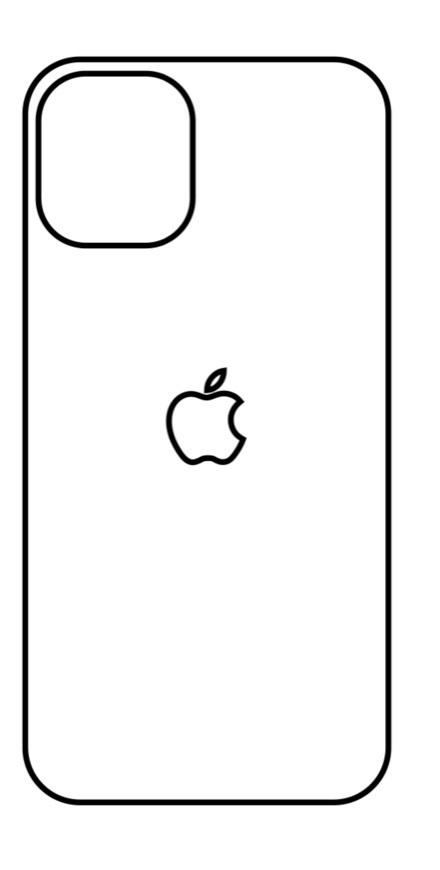 Hydrogel - zadná ochranná fólia - iPhone 12 - typ 5