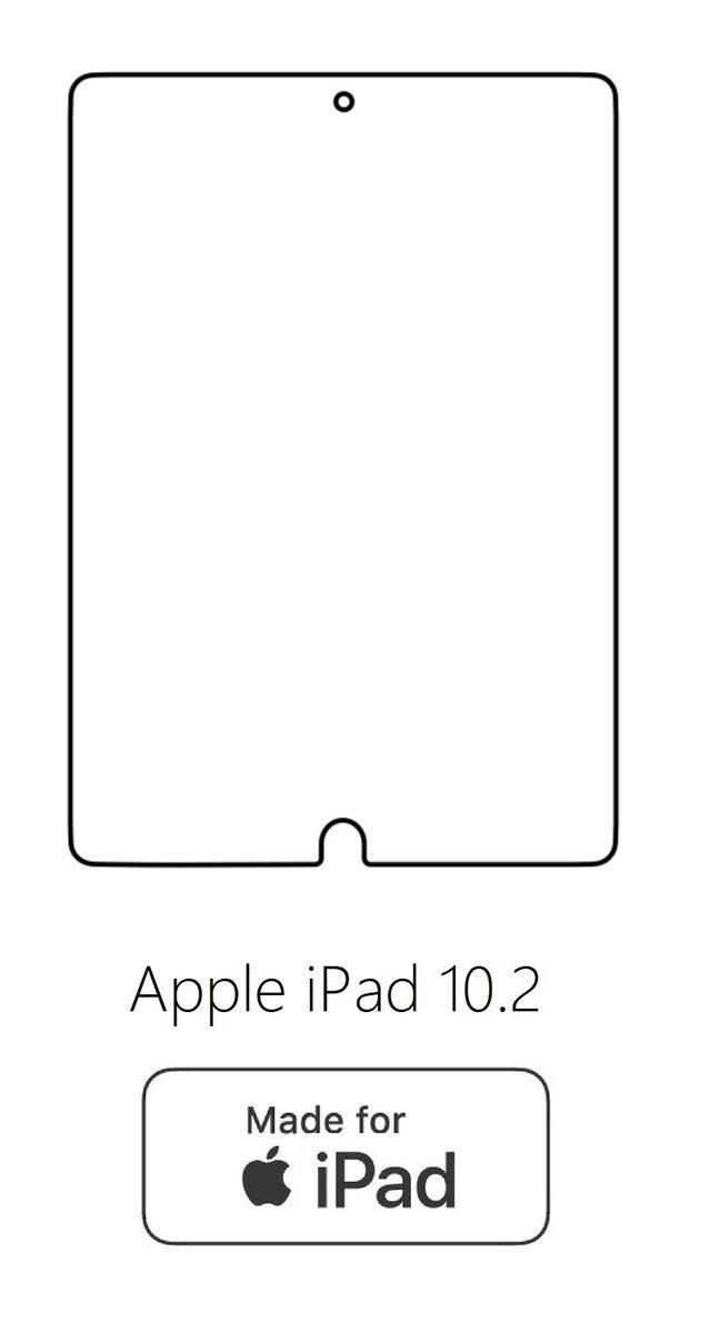 Hydrogel - ochranná fólia - Apple iPad 10.2 (8.gen.) 2019/2020Apple iPad 10.2 (8.gen.) 2019/2020 A2428, A2429, A2430