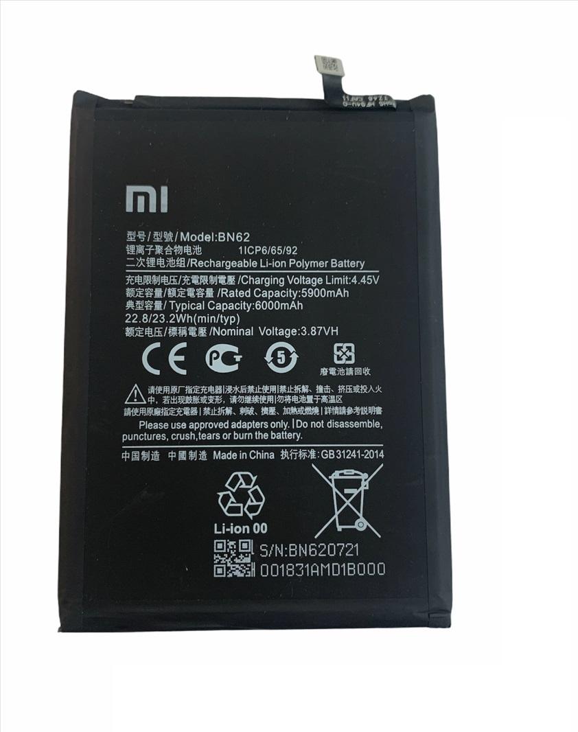 Batéria Xiaomi Redmi 9T, Redmi Note 9 BN62 6000mAh