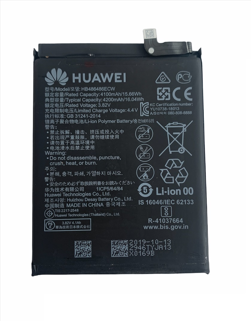 OEM Batéria Huawei HB486486ECW pre Huawei P30 Pro, Mate 20 Pro 4200mAh