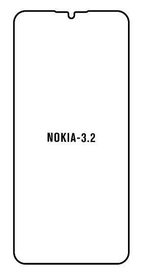Hydrogel - Privacy Anti-Spy ochranná fólia - Nokia 3.2