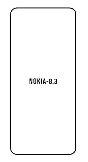 Hydrogel - Privacy Anti-Spy ochranná fólia - Nokia 8.3 5G