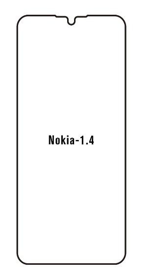 Hydrogel - Privacy Anti-Spy ochranná fólia - Nokia 1.4