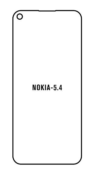 Hydrogel - Privacy Anti-Spy ochranná fólia - Nokia 5.4