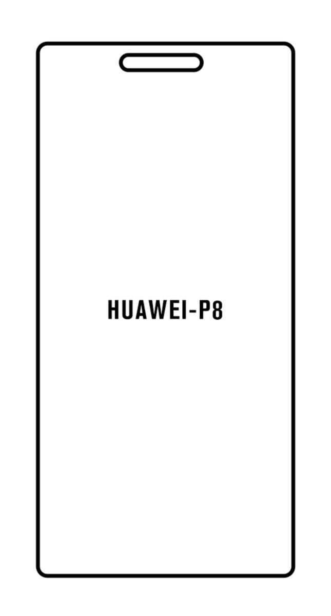 Hydrogel - Privacy Anti-Spy ochranná fólia - Huawei P8