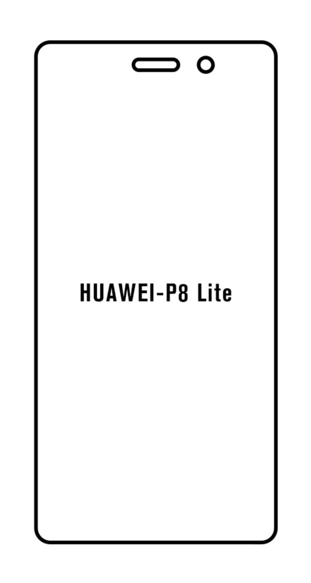 Hydrogel - Privacy Anti-Spy ochranná fólia - Huawei P8 Lite