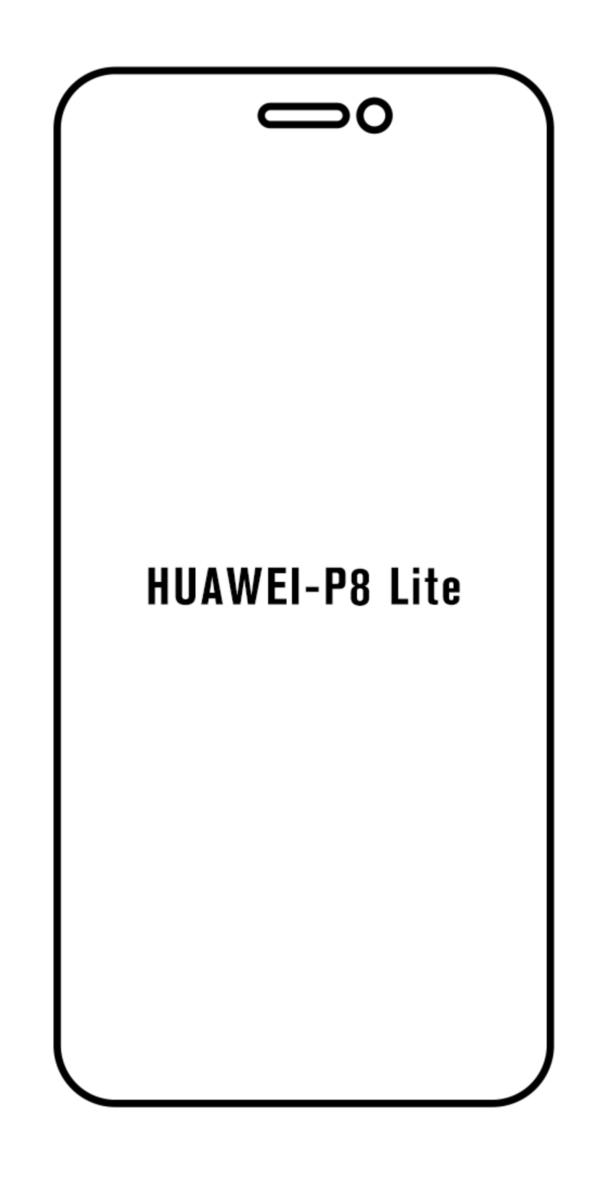 Hydrogel - Privacy Anti-Spy ochranná fólia - Huawei P8 Lite 2017
