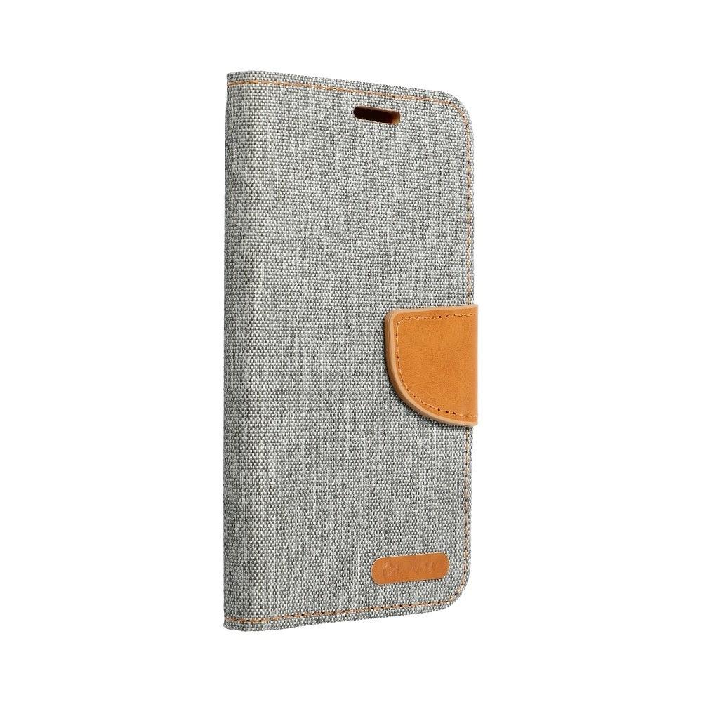 Canvas Book Huawei P8 Lite šedý