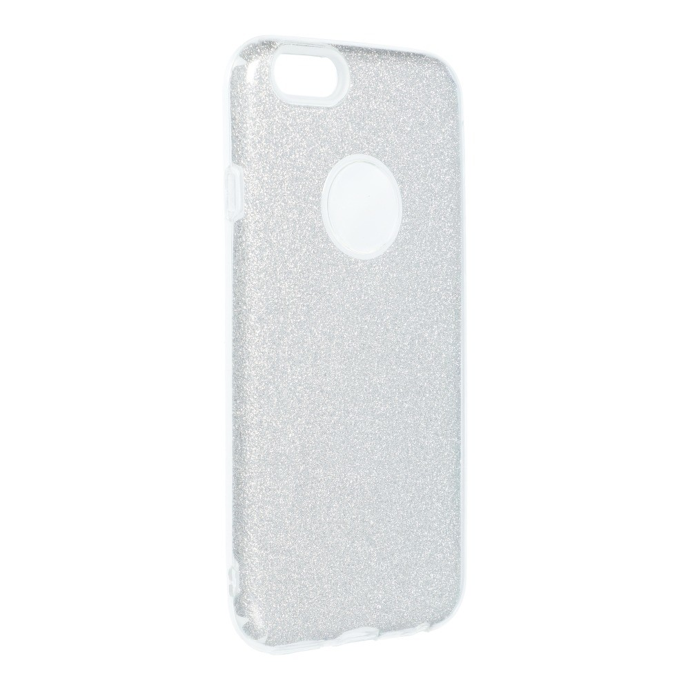 Forcell SHINING Case iPhone 6/6S strieborný