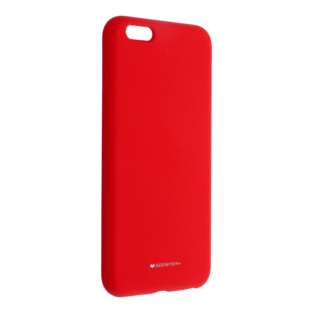 Mercury Silicone iPhone 6 Plus / 6S Plus červený