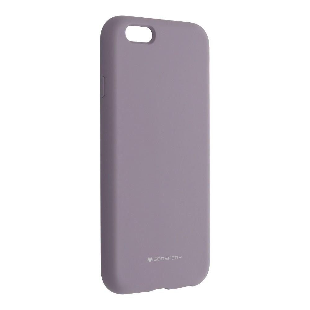 Mercury Silicone iPhone 6 / 6S lavender šedý