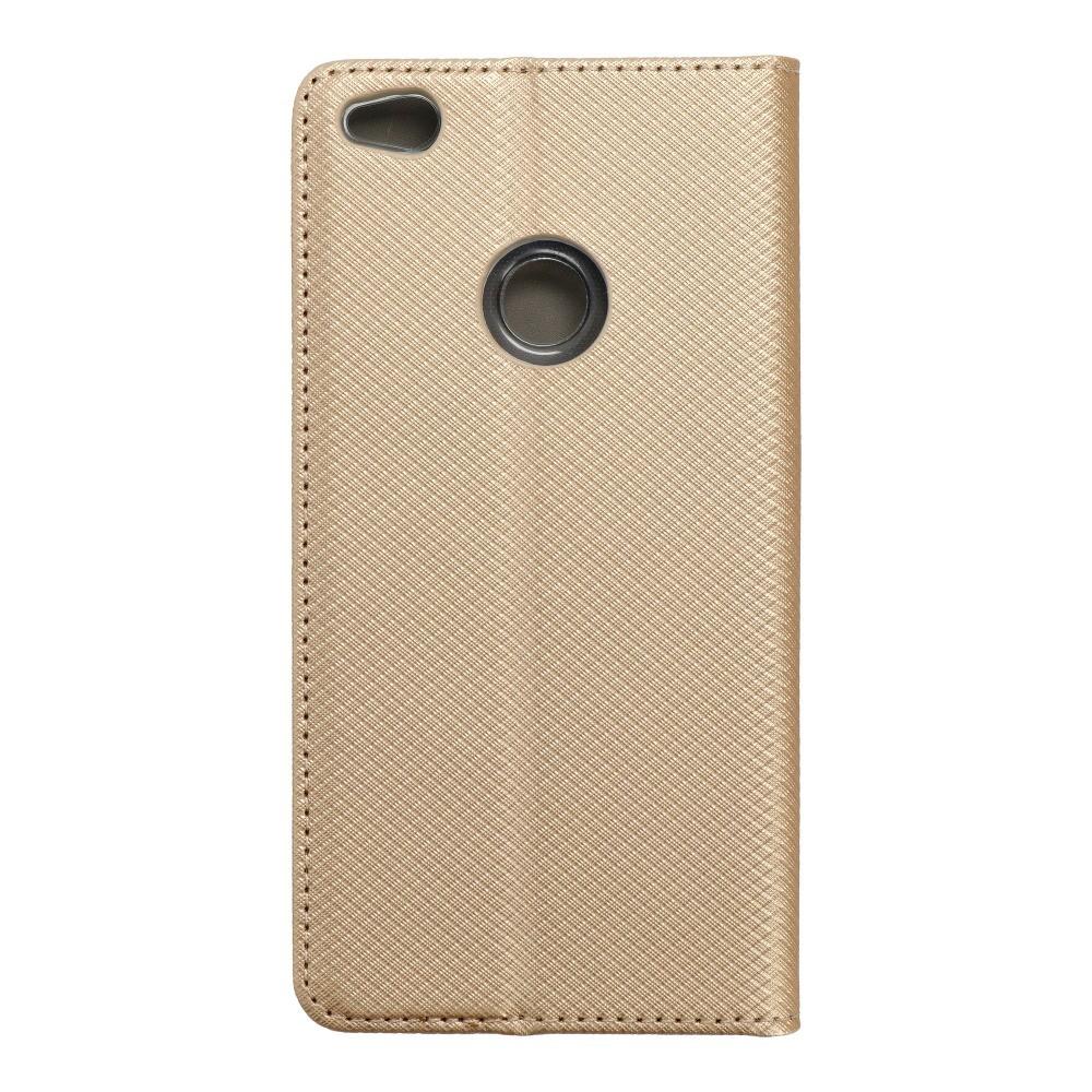 Smart Case Book Huawei P8 Lite 2017/ P9 lite 2017 zlatý