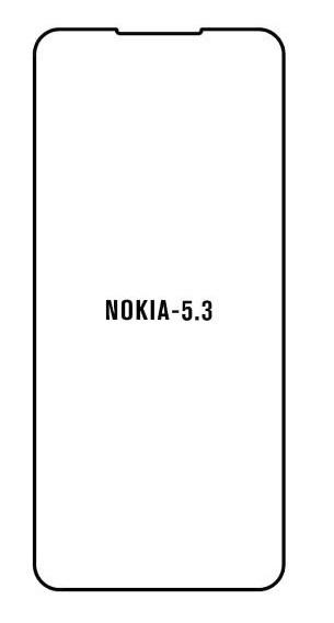 Hydrogel - Privacy Anti-Spy ochranná fólia - Nokia 5.3