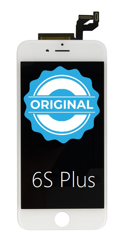 Apple ORIGINAL Biely LCD displej iPhone 6S Plus + dotyková doska