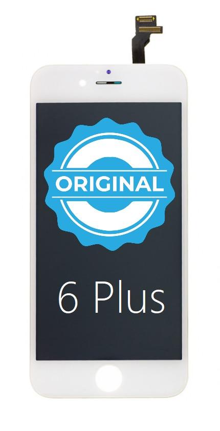 Apple ORIGINAL Biely LCD displej iPhone 6 Plus + dotyková doska