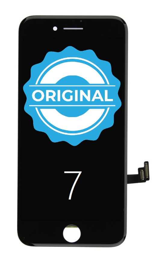 Apple ORIGINAL Čierny LCD displej iPhone 7 + dotyková doska