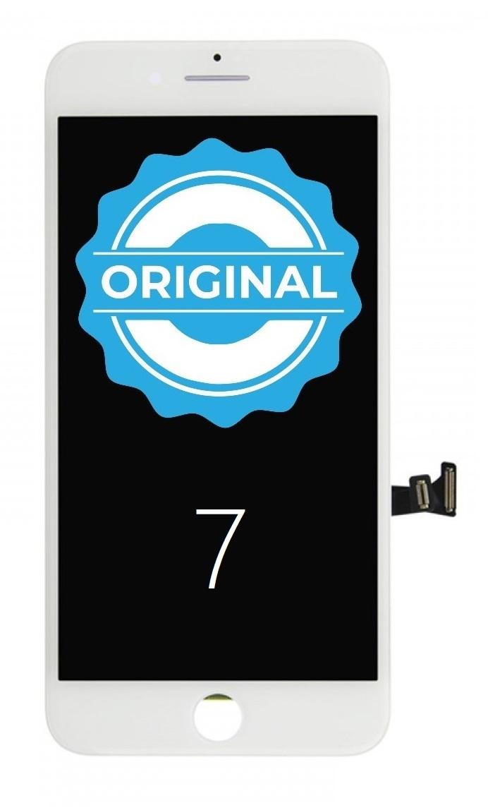 Apple ORIGINAL Biely LCD displej iPhone 7 + dotyková doska