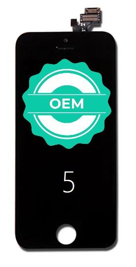 Čierny LCD displej iPhone 5 + dotyková doska OEM