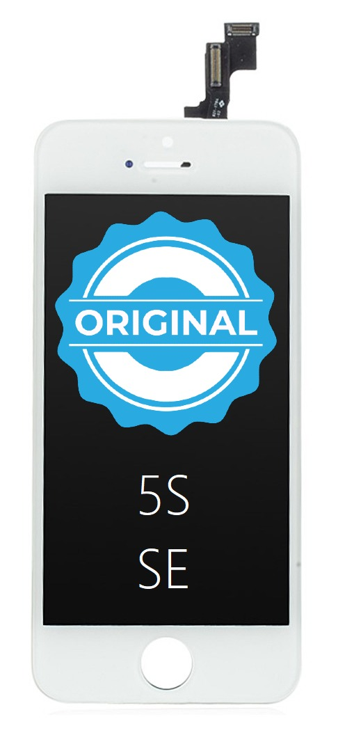 Apple ORIGINAL Biely LCD iPhone 5S/SE