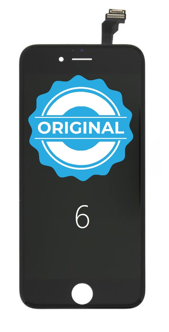 Apple ORIGINAL Čierny LCD iPhone 6