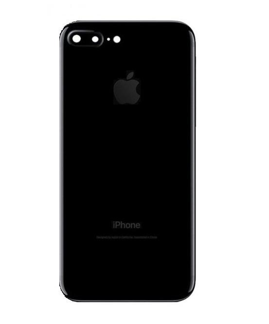 Apple Zadný kryt iPhone 7 Plus čierny/ Jet Black s malými inštalovanými dielmi