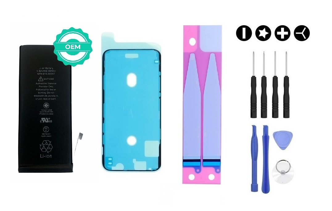 MULTIPACK - OEM Batéria iPhone 7 + lepka pod displej + lepka pod batériu + sada náradia
