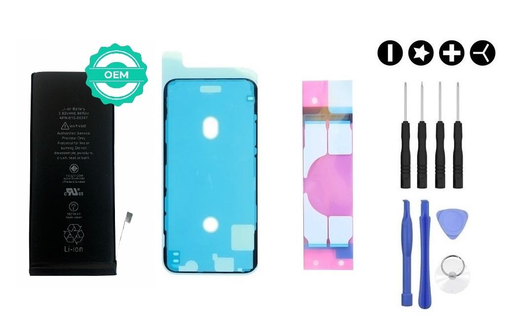 MULTIPACK - OEM Batéria iPhone XR + lepka pod displej + lepka pod batériu + sada náradia