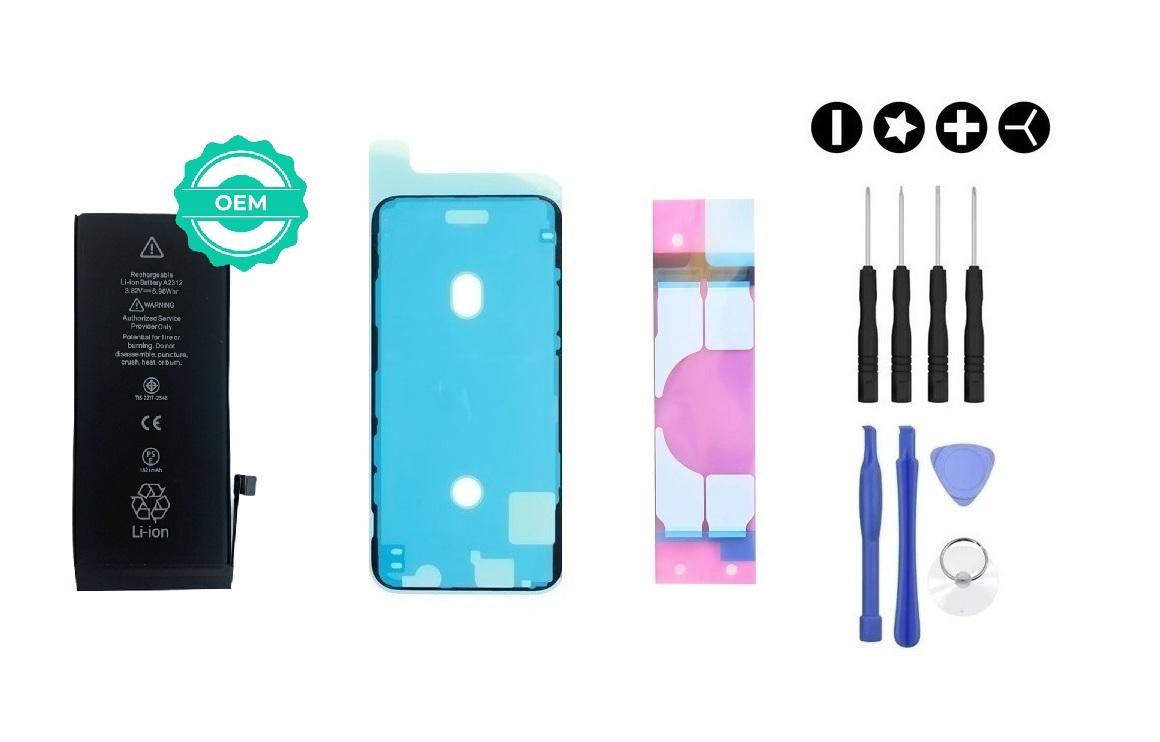 MULTIPACK - OEM Batéria iPhone SE 2020 + lepka pod displej + lepka pod batériu + sada náradia