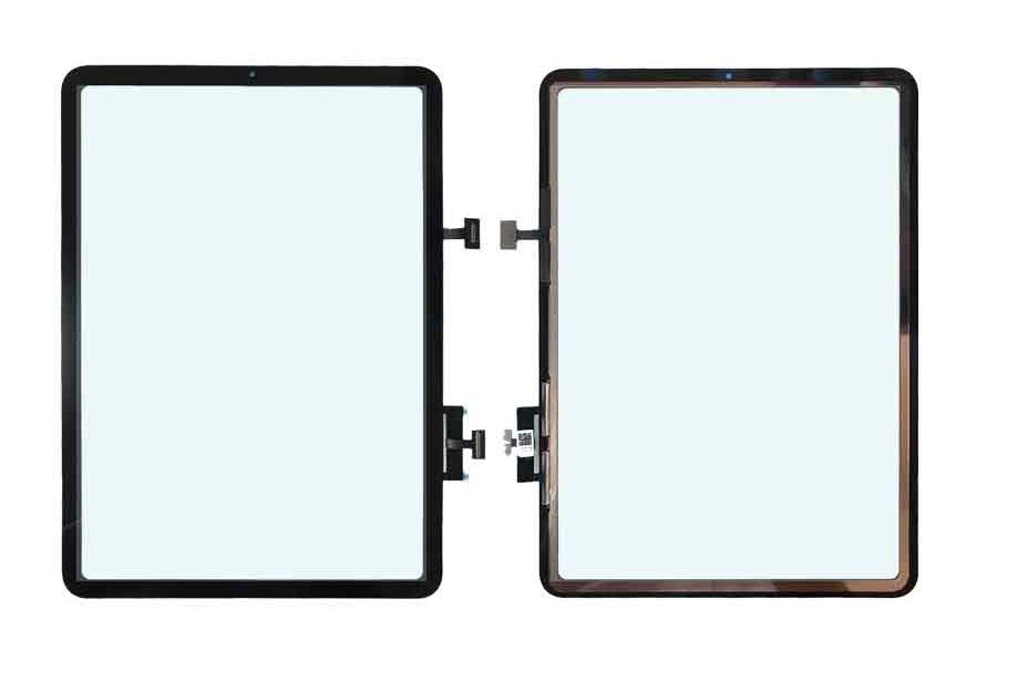 Apple iPad Air 4 - dotyková plocha, sklo (digitizér) originál - čierna