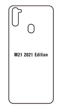 Hydrogel - matná zadná ochranná fólia - Samsung Galaxy Samsung Galaxy M21 2021 Edition
