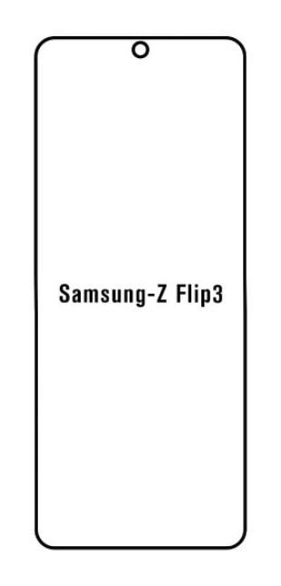 Hydrogel - Privacy Anti-Spy ochranná fólia - Samsung Galaxy Z Flip 3 5G