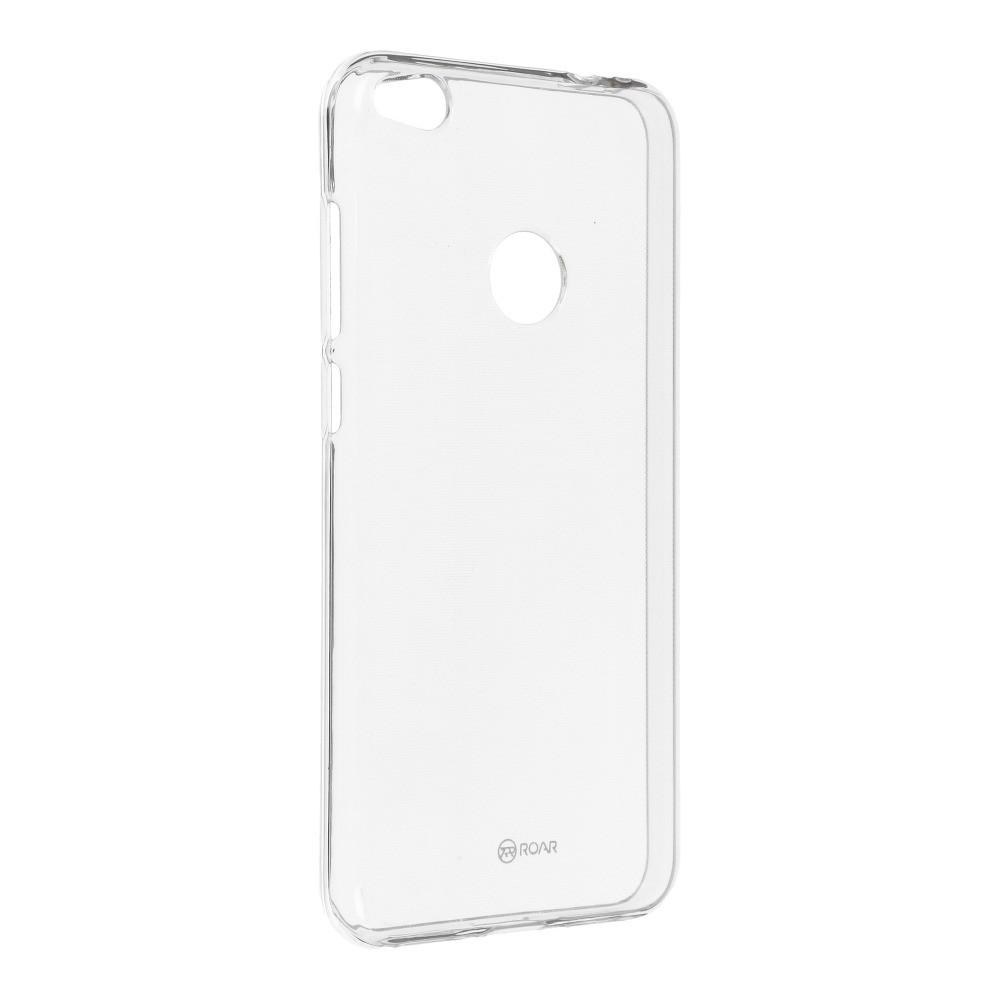 Jelly Case Roar - Huawei P8 Lite 2017 / P9 Lite 2017 / Honor 8 Lite priesvitný