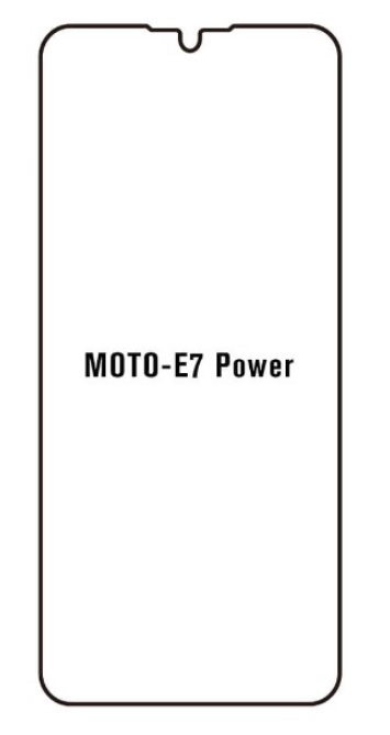 Hydrogel - ochranná fólia - Motorola Moto E7 Power