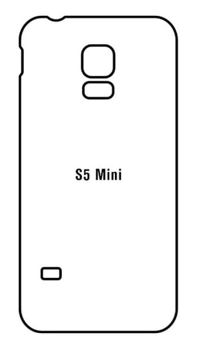 Hydrogel - matná zadná ochranná fólia - Samsung Galaxy S5 mini