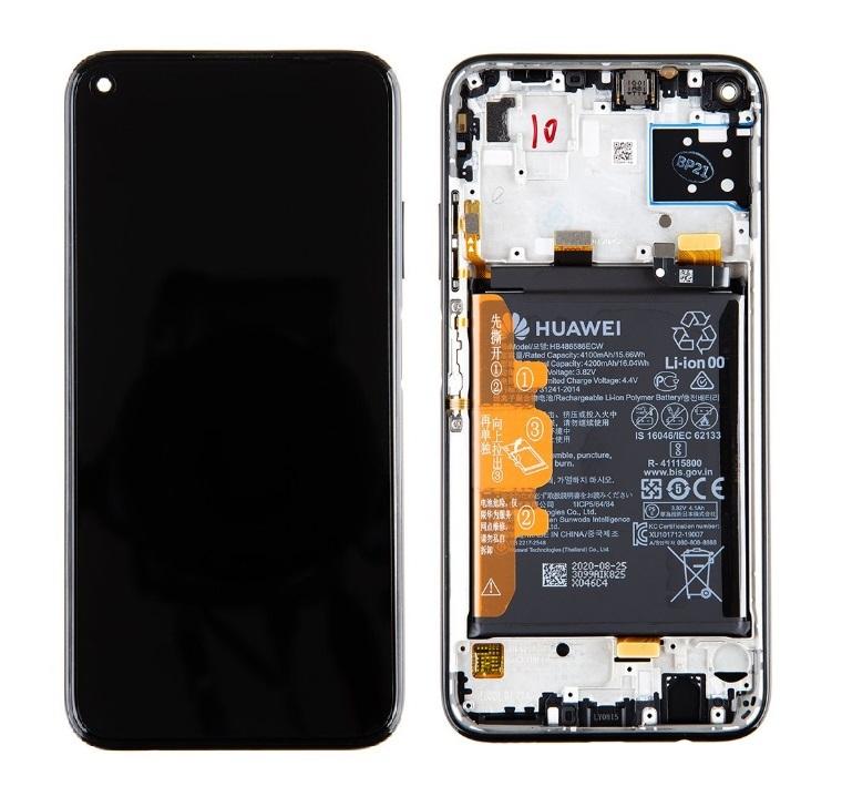Huawei P40 Lite displej + dotyková doska (Service Pack)