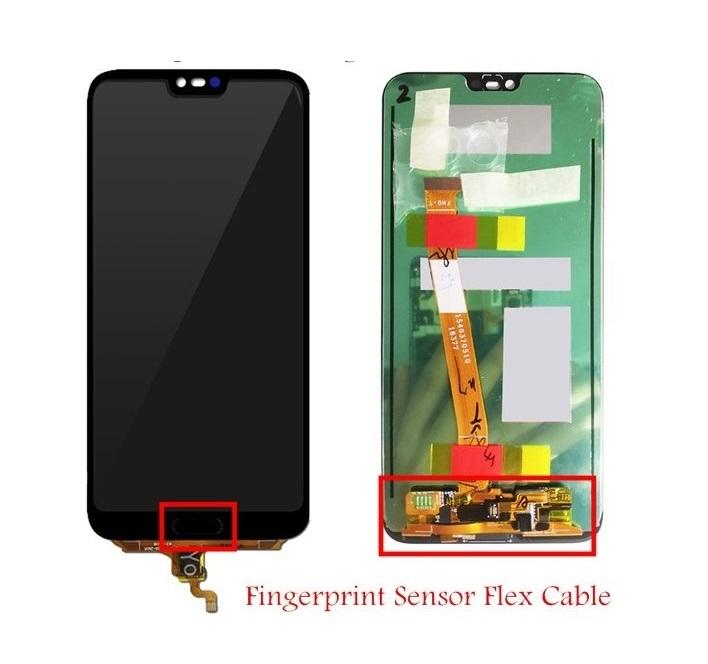 LCD displej + dotyková plocha pre Huawei Honor 10 so snímačom otlačku prsta