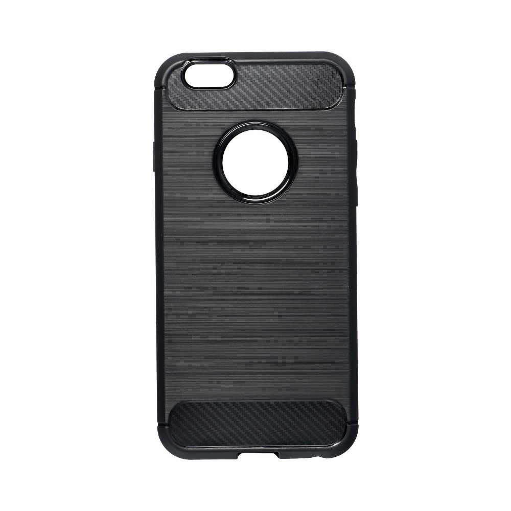 Forcell CARBON Case iPhone 6/6S čierny