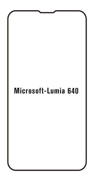 Hydrogel - ochranná fólia - Microsoft Lumia 640